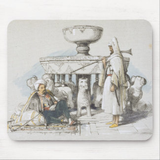 The Fountain of the Lions, Vignette from 'Sketches Mouse Pad
