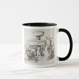 The Fountain of the Lions, Vignette from 'Sketches Mug
