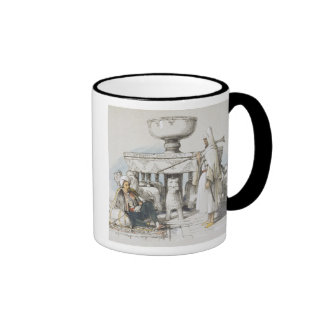 The Fountain of the Lions, Vignette from 'Sketches Coffee Mugs