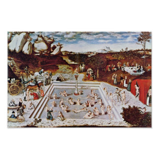The Fountain Of Youth By Cranach D. Ä. Lucas (Best Posters