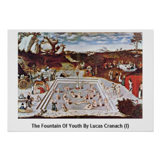 The Fountain Of Youth By Lucas Cranach (I) Poster