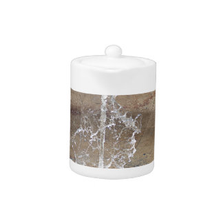 The fountain teapot