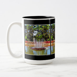 The Fountain Two-Tone Coffee Mug
