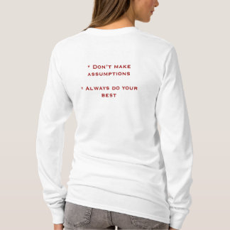 The Four Agreements Hoody Long Sleeve (Fitted)