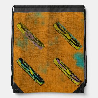 The Four Bacons Drawstring Bag