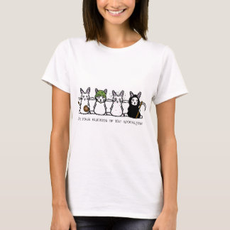 The Four Bunnies of the Apocalypse T-Shirt