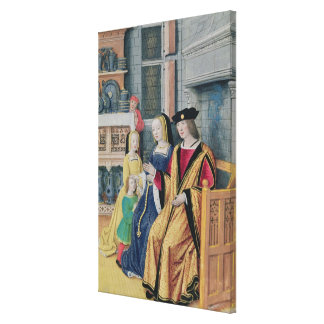 The Four Conditions of Society: Nobility Canvas Print