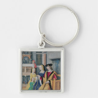 The Four Conditions of Society: Nobility Keychain