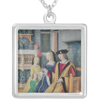 The Four Conditions of Society: Nobility Silver Plated Necklace