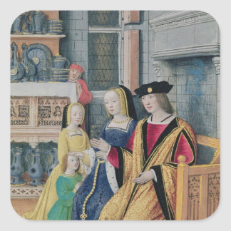 The Four Conditions of Society: Nobility Square Sticker