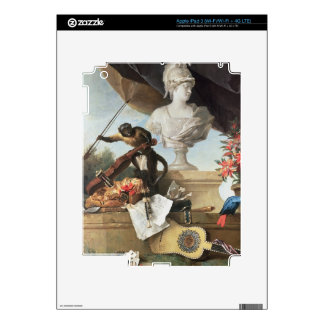 The Four Continents: Europe, 1722 (oil on canvas) Decal For iPad 3