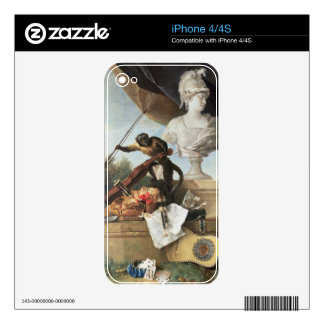 The Four Continents: Europe, 1722 (oil on canvas) iPhone 4 Skins