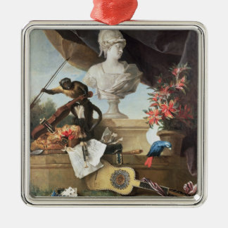 The Four Continents: Europe, 1722 (oil on canvas) Metal Ornament