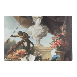 The Four Continents: Europe, 1722 (oil on canvas) Laminated Placemat