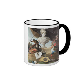 The Four Continents: Europe, 1722 (oil on canvas) Ringer Mug