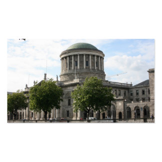 The Four Courts, Dublin, Ireland Business Card Template