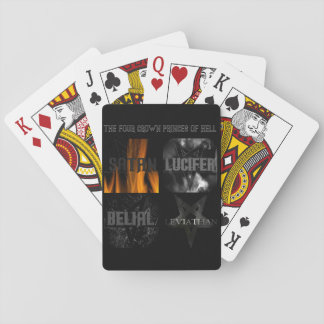 The Four Crown Princes of Hell Poker Deck