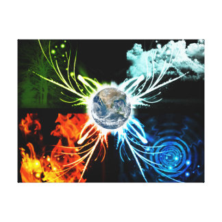 The Four Elements Canvas Print