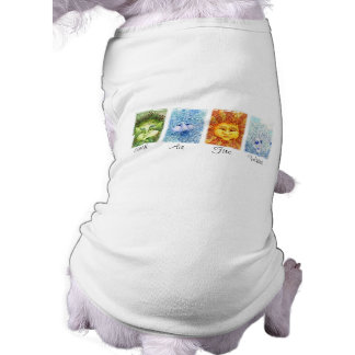 The Four Elements Dog T-Shirt