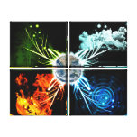 The Four Elements Gallery Wrap Canvas