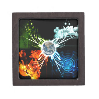 The Four Elements Jewelry Box