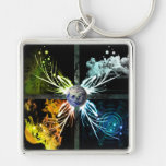 The Four Elements Key Chains