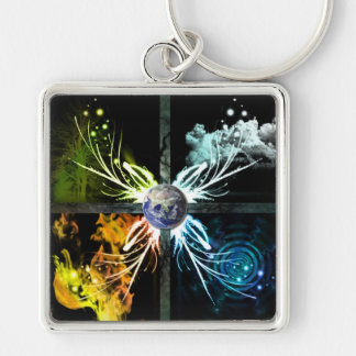The Four Elements Keychain
