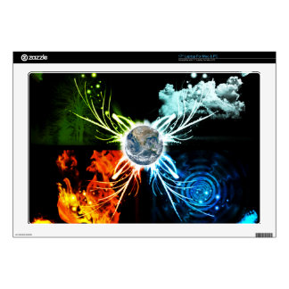 The Four Elements Laptop Decal