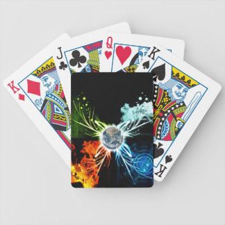 The Four Elements Poker Deck