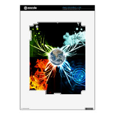 The Four Elements Skins For iPad 2