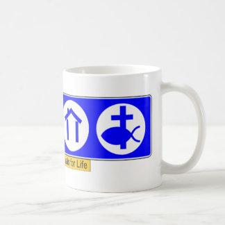 The Four Essentials for Life Coffee Mug