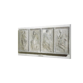 The Four Evangelists Stretched Canvas Print