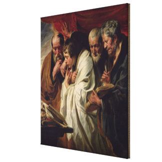 The Four Evangelists Canvas Print