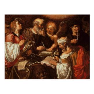 The Four Evangelists Postcard