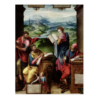 The Four Evangelists Post Card