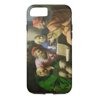 The Four Fathers of the Church (oil on canvas laid iPhone 8/7 Case