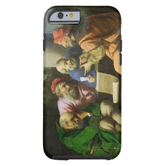 The Four Fathers of the Church (oil on canvas laid Tough iPhone 6 Case