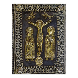 The Four Gospels Book Binding Postcard