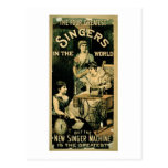 'The Four Greatest Singers in the World, But the N Postcard