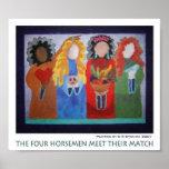 The Four Horsemen Meet Their Match Poster