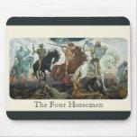 """""""The Four Horsemen"""" Mouse Mats"""