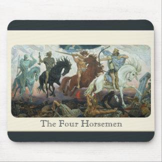 """""""The Four Horsemen"""" Mouse Pad"""