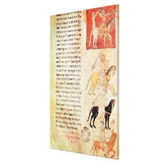 The Four Horsemen of the Apocalypse Gallery Wrap Canvas