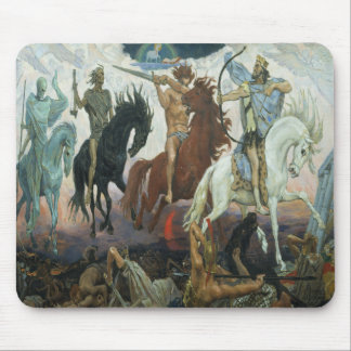 The Four Horsemen of the Apocalypse Mouse Pad
