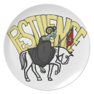 The Four Horsemen of the Apocalypse: Pestilance Plate
