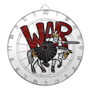 The Four Horsemen of the Apocalypse: War Dartboard With Darts