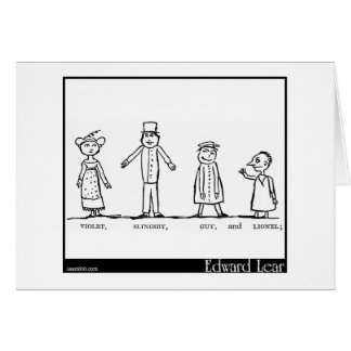The Four Little Children Who Went Round the World Card