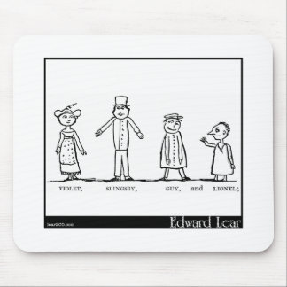 The Four Little Children Who Went Round the World Mouse Pad