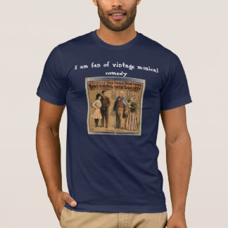 The Four Mortons Breaking Into Society vintage art T-Shirt