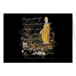 The Four Noble Truths Greeting Card